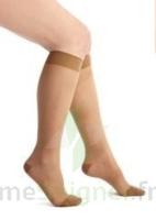 Thuasne Venoflex Secret 2 Chaussette Femme Beige Doré T2l+ à VILLERS-LE-LAC