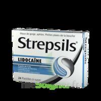 Strepsils lidocaïne Pastilles Plq/24 à VILLERS-LE-LAC