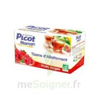 Picot Maman Tisane d'allaitement Fruits rouges 20 Sachets à VILLERS-LE-LAC