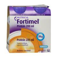 Fortimel Protein Nutriment Caramel 4 Bouteilles/200ml à VILLERS-LE-LAC