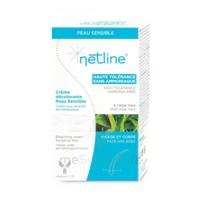 Netline Crème Visage/corps Décolorante Peau Sensible 30+30ml à VILLERS-LE-LAC