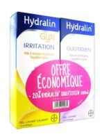 Hydralin Quotidien Gel Lavant Usage Intime 200ml+gyn 200ml à VILLERS-LE-LAC