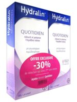 Hydralin Quotidien Gel lavant usage intime 2*200ml à VILLERS-LE-LAC