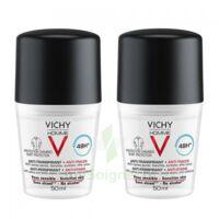 Vichy Homme Déodorant anti-transpirant anti trace 48H 2*Billes/50ml à VILLERS-LE-LAC