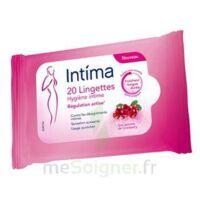 Intima Gyn'Expert Lingettes Cranberry Paquet/20 à VILLERS-LE-LAC