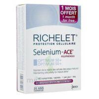 Richelet Selenium Ace Optimum 50+ Comprimés B/90+30 à VILLERS-LE-LAC