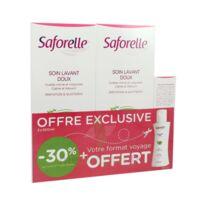 Saforelle Solution Soin Lavant Doux 2*500ml+100ml à VILLERS-LE-LAC