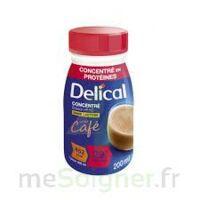 DELICAL BOISSON HP HC CONCENTREE Nutriment café 4Bouteilles/200ml à VILLERS-LE-LAC