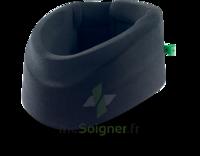 Cervix 2 Collier cervical semi-rigide noir/vert H9cm T3 à VILLERS-LE-LAC