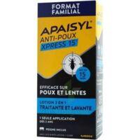 Apaisyl Anti-poux Xpress Lotion antipoux et lente 300ml à VILLERS-LE-LAC