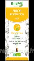 Herbalgem Sirop Bio Respiration 150ml à VILLERS-LE-LAC