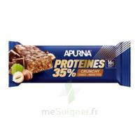 Apurna Barre hyperprotéinée crunchy chocolat noisette 45g à VILLERS-LE-LAC
