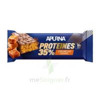 Apurna Barre hyperprotéinée crunchy caramel 45g à VILLERS-LE-LAC