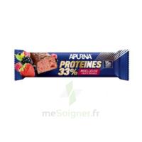 Apurna Barre hyperprotéinée moelleuse fruits rouges 45g à VILLERS-LE-LAC