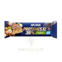 Apurna Barre hyperprotéinée XL crunchy noisette 80g à VILLERS-LE-LAC