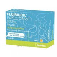 Fluimucil Expectorant Acetylcysteine 600 Mg Glé S Buv Adultes 10sach à VILLERS-LE-LAC