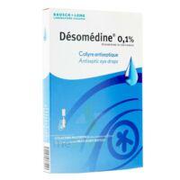 Desomedine 0,1 % Collyre Sol 10fl/0,6ml à VILLERS-LE-LAC
