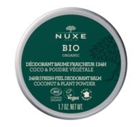 Nuxe Bio Déodorant Baume Fraîcheur 24h Toutes Peaux Pot/50g à VILLERS-LE-LAC