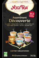 Yogi Tea Tisane Assortiment Découverte Bio 18 Sachets/1,9g à VILLERS-LE-LAC