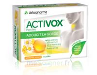 Activox Sans Sucre Pastilles Miel Citron B/24 à VILLERS-LE-LAC