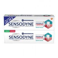 Sensodyne Sensibilité Et Gencives Menthe Fraîche 2t/75ml à VILLERS-LE-LAC