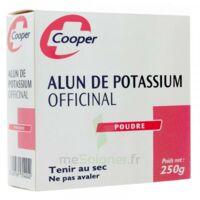 Cooper Alun Potassium Poudre B/250g à VILLERS-LE-LAC