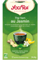 Yogi Tea Thé Vert Jasmin Bio 17 Sachets/1,8g à VILLERS-LE-LAC