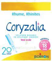 Boiron Coryzalia Solution Buvable Unidose B/20 à VILLERS-LE-LAC
