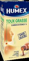 Humex 5 % Solution Buvable Expectorant Sans Sucre Adulte Fl/250ml à VILLERS-LE-LAC