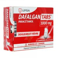 Dafalgantabs 1 G Cpr Pell Plq/8 à VILLERS-LE-LAC