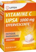 Vitamine C Upsa Effervescente 1000 Mg, Comprimé Effervescent à VILLERS-LE-LAC