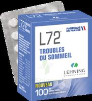 Lehning L72 Comprimés Orodispersibles Plq Pvc/pvdc/alu/100 à VILLERS-LE-LAC
