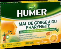Humer Pharyngite Pastille Mal De Gorge Miel Citron B/20 à VILLERS-LE-LAC